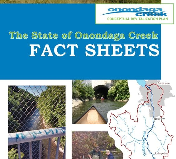 The State of Onondaga Creek: Fact Sheets 2008